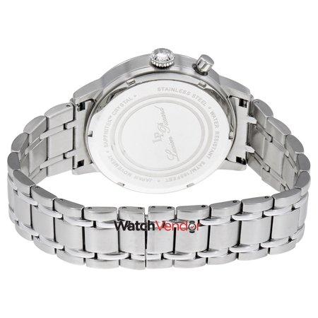 Lucien Piccard Complete Calendar Black Dial Men's Watch 40016-11 - image 1 de 3