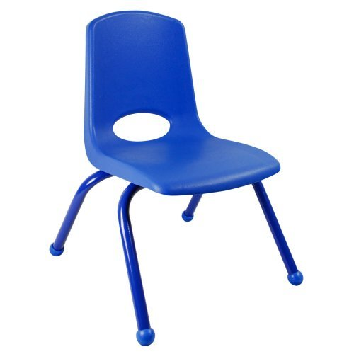 ECR4KIDS 10 Inch Stackable Chair with Matching Painted Legs