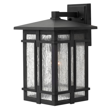 Tucker 1-Light Outdoor Wall Mount in Museum Black ()