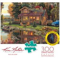 Buffalo Games - Kim Norlien - Peace Like a River - 300 Piece Jigsaw Puzzle