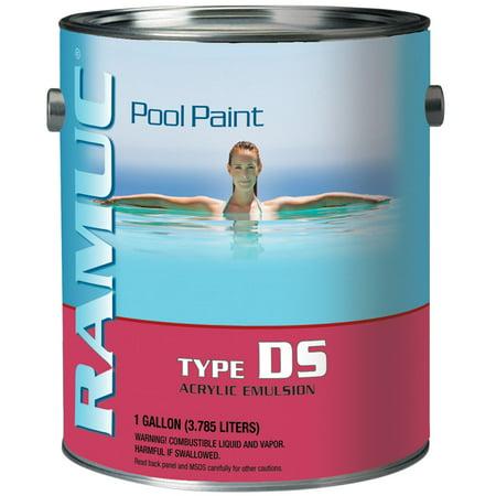 1 Gallon Ramuc Ds Acrylic Pool Paint White