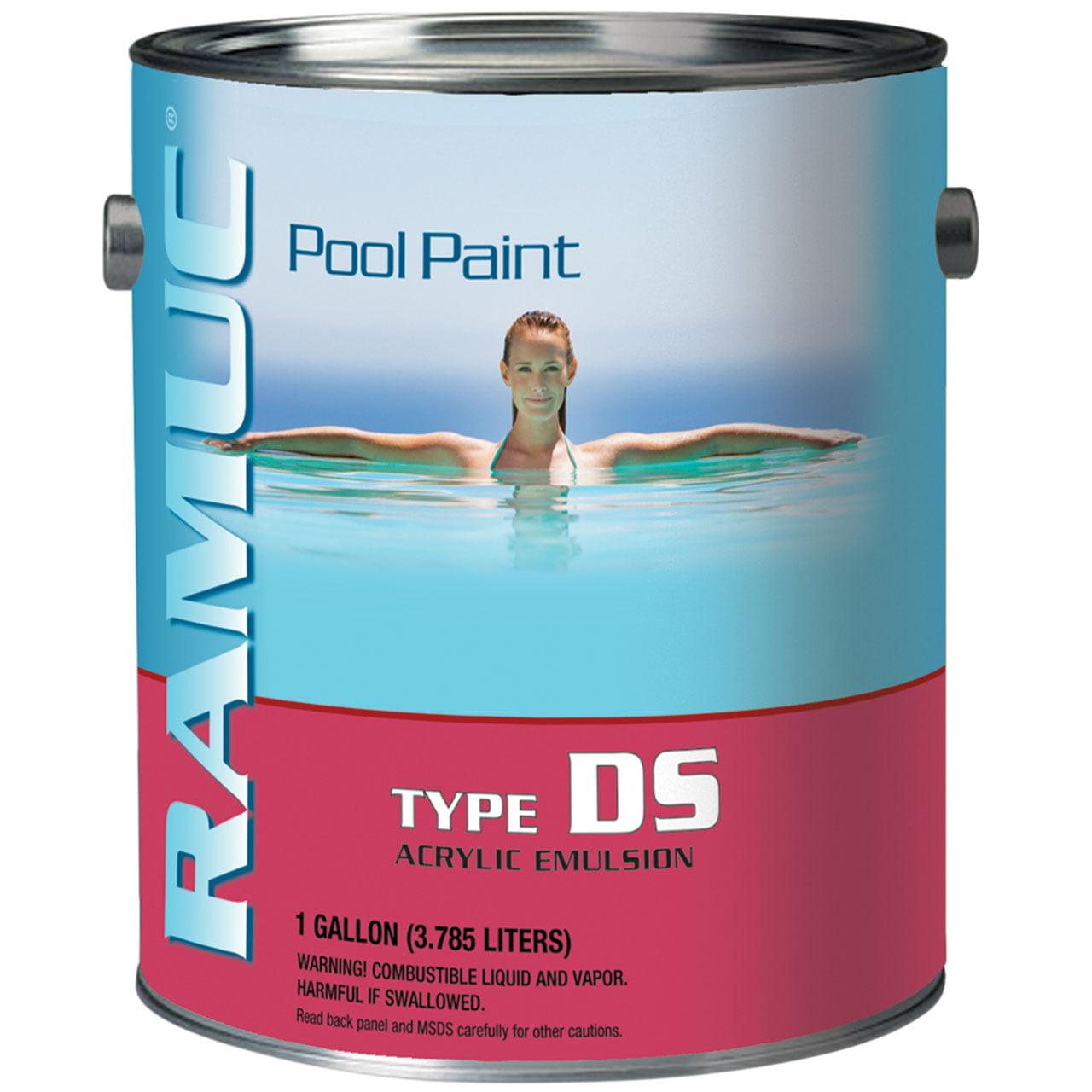 1 Gallon Ramuc DS Acrylic Pool Paint - White