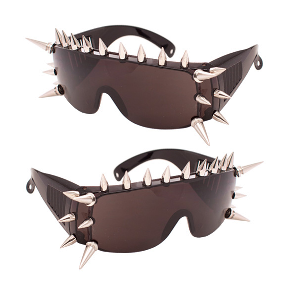 Spike Frame Sunglasses
