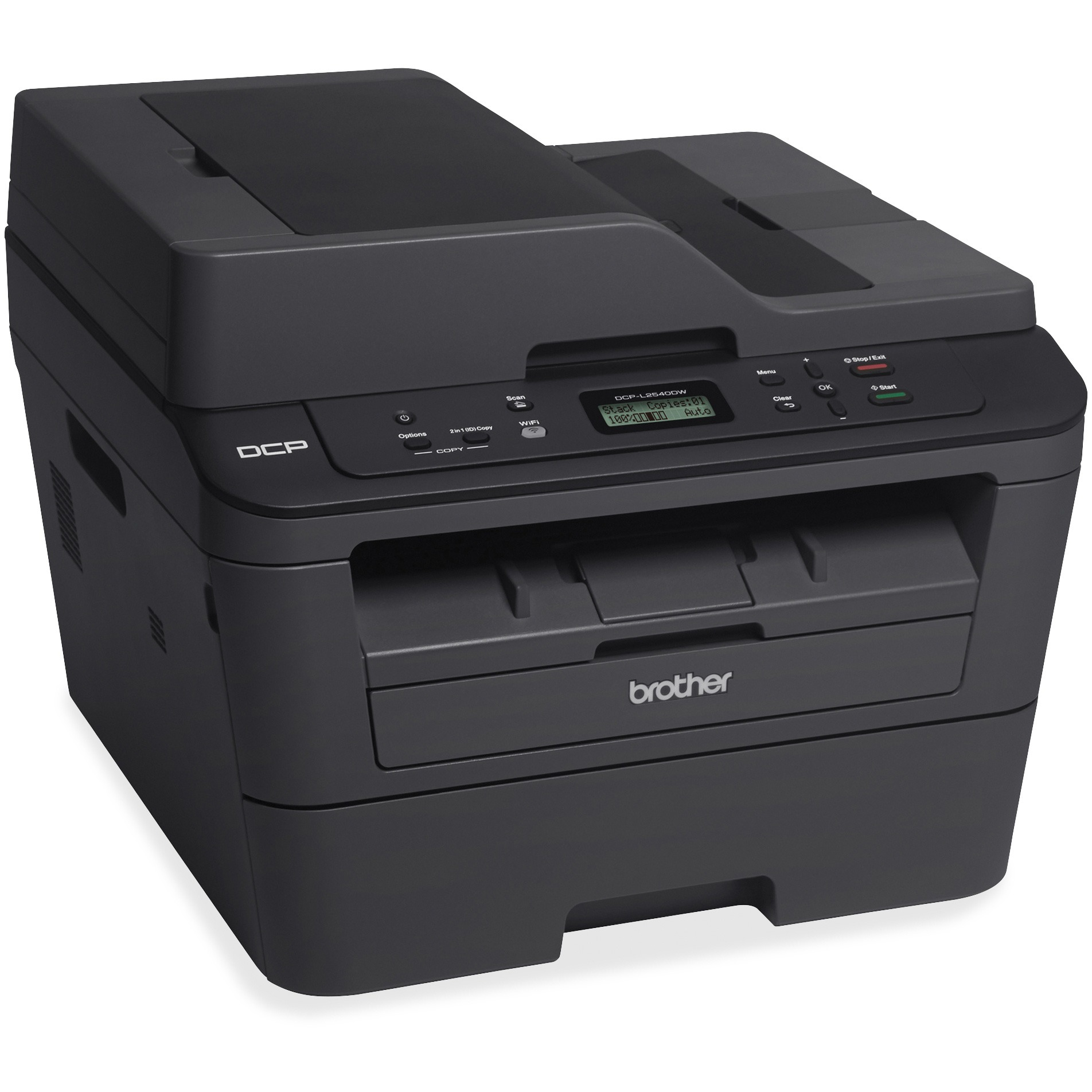 Brother, BRTDCPL2540DW, DCPL2540DW MFP Compact Laser Copier, 1 Each