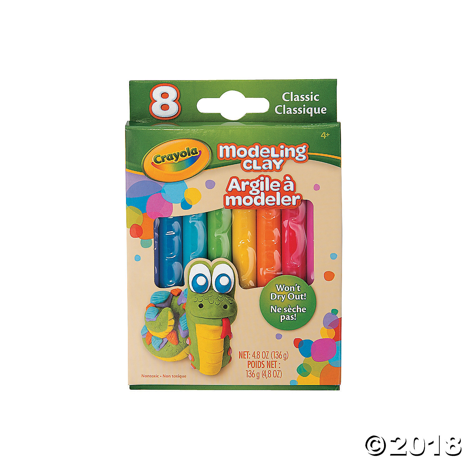 Crayola® Modeling Clay Classic Color Assortment(pack of 12)