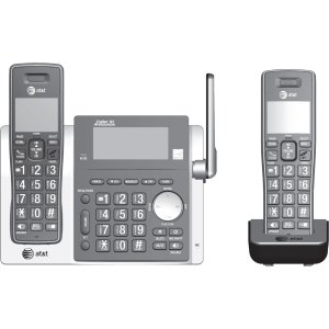 AT&T CL83213 DECT 6.0 Cordless Phone - Cordless - 1 x Phone Line - 1 x Handset - Speakerphone - Answering Machine - Hearing Aid Compatible REPLACES