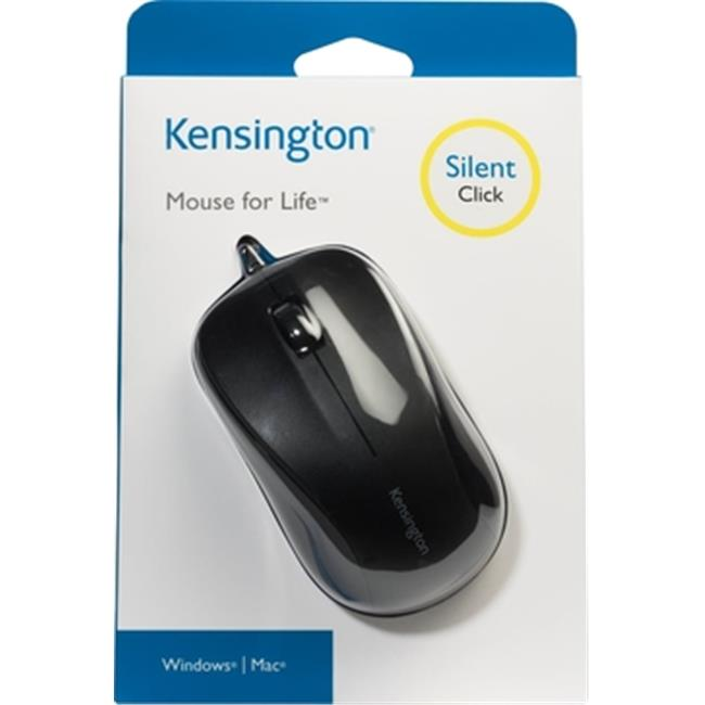Kensington Technology Group K72110US Mouse For Life Three-Button USB Mouse