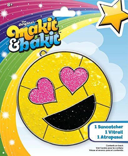 Colorbok 73705 Mibi Suncatcher Emoji Heart Eyes Suncatcher Kit - image 1 of 1