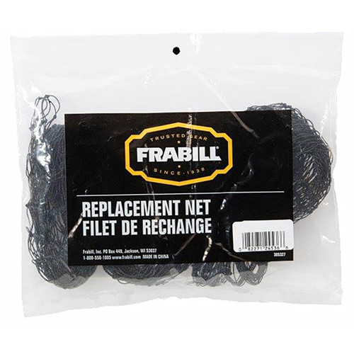 Frabill Replacement Fishing Net Black