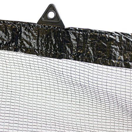 Swimline 12-Foot Round Above Ground Swimming Pool Leaf Net Top Cover, 15 Foot