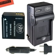BM Premium DMW-BLG10 Battery and Battery Charger for Panasonic Lumix DMC-GX80, DMC-GX85, DMC-ZS60, DMC-ZS100, DMC-GF6, DMC-GX7K, DMC-LX100K Digital Camera