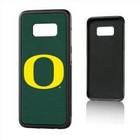 U of O Oregon Ducks Solid Bump Case for Galaxy S8