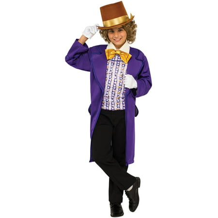 Willy Wonka Child Halloween Costume - As Bruxas Do Halloween