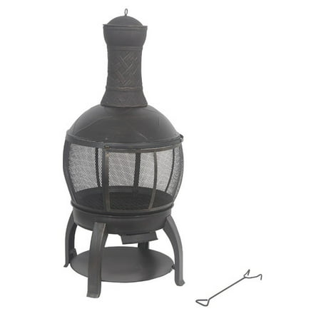 Shinerich Cast iron Wood Burning Chiminea