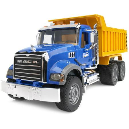 Bruder Mack Granite Dump Truck - Mack Truck Hats