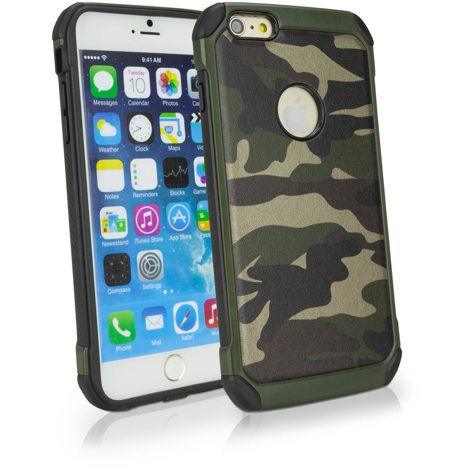 BoxWave CamoSuit Tough Armor Shell Cover for Apple iPhone 6 Plus/6s Plus