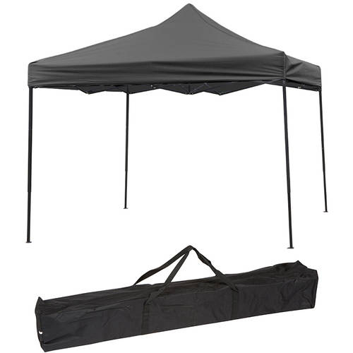 Trademark Innovations 10'x10' Straight Leg Instant Canopy/Gazebo Shelter (100 Sq. Ft. Coverage)