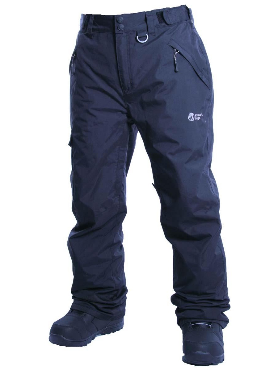 Winter's Edge Mens Mountain Range Insulated Snow Pants
