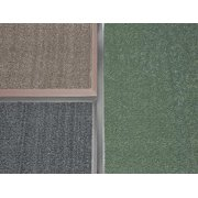 CA AE68BR Carpeted Entrance Mat, Taupe, 6 x 8 ft.