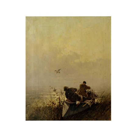 - Duck Hunting, 1905 Print Wall Art By Evgeny Alexandrovich Tichmenev