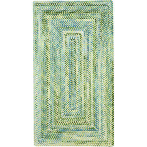Waterway Concentric Braided Area Rug