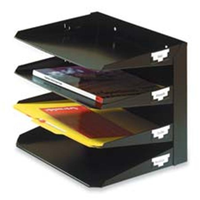 MMF Industries MMF2643004 Horizontal Organizer- 3-Tier- 12in.x8-.75in.x6-.38in.- Black - image 1 of 1