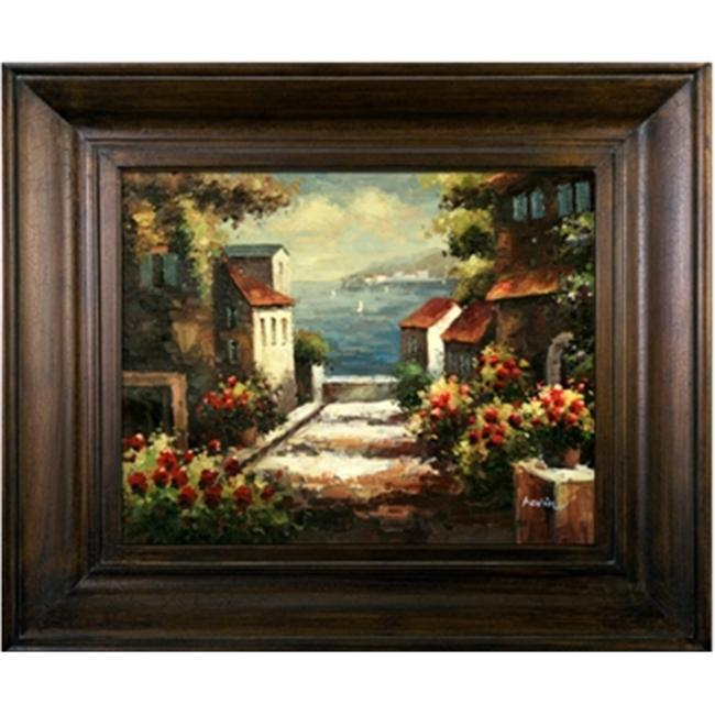 Artmasters Collection PA88680-69594 Sunny Afternoon II Framed Oil Painting
