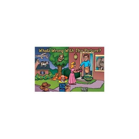 Tract-Halloween: What's Wrong With This Picture? (NIV) (Pack Of 25) - Gospel Tracts For Halloween