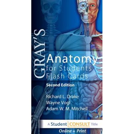 Gray\'s Anatomy for Students Flash Cards by Drake - Walmart.com