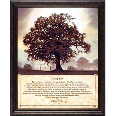 Artistic Reflections P283 11 X 13 In  Living Life Bonnie Mohr Country Farm Landscape Art Print