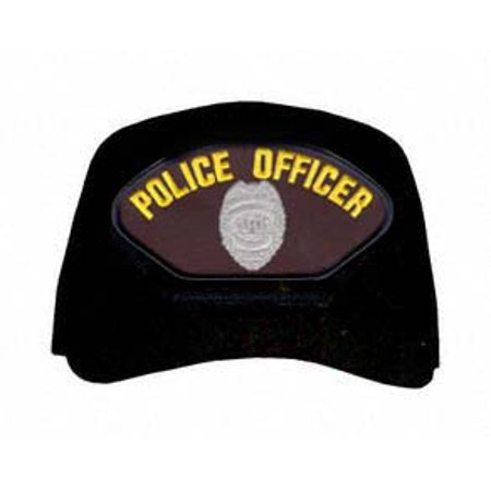 Police Officer with Shield Ball Cap Police Ball Cap