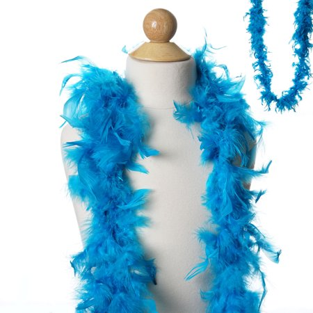 BalsaCircle 6 feet Large Feather Boa - Costumes Gifts Dress Up Kids Party Wedding Accessories - Punk Child