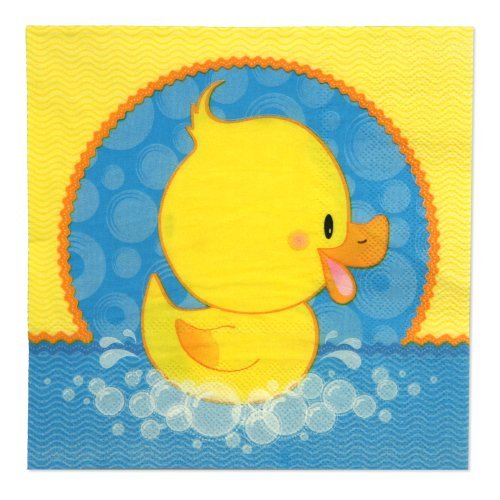 Ducky Duck - Luncheon Napkins (16 count)