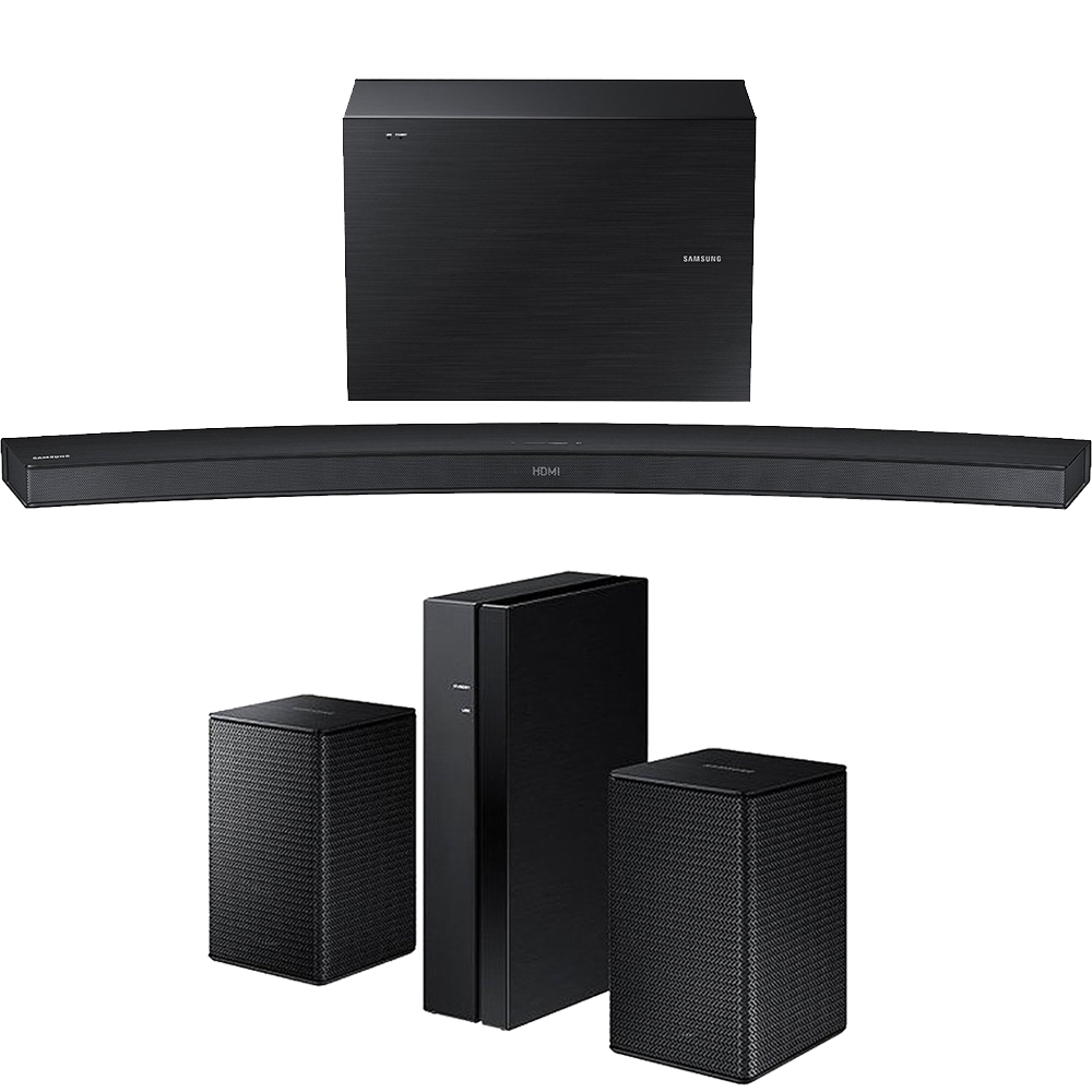Samsung HW-J4000/ZA 2.1 Channel 300W Curved Wireless Audi...
