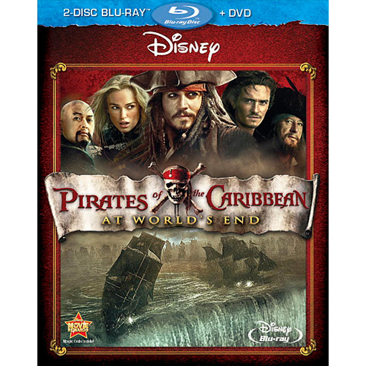 Pirates of the Caribbean: At World's End (2-Disc Blu-ray + DVD)
