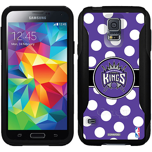 Sacramento Kings Polka Dots Design on OtterBox Commuter Series Case for Samsung Galaxy S5