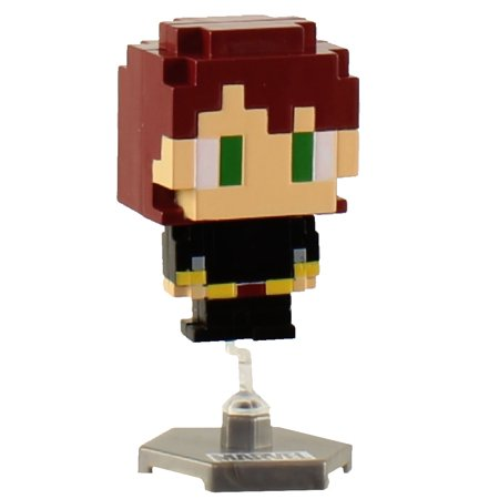 Marvel - Pixelated Bobblehead Mini Figure - BLACK WIDOW (2 inch)](Black Widow Marvel Outfit)