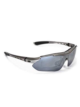 4d14cf8722e Product Image Walleva Polarized Sports Sunglasses With TR90 Frame -  Multiple Options Available (Titanium Mirror Coated -