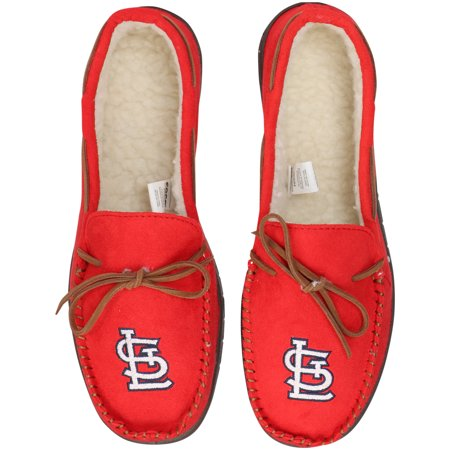 St. Louis Cardinals Big Logo Moccasin Slippers