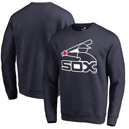 Chicago White Sox Fanatics Branded Cooperstown Collection Huntington Sweatshirt - Navy Chicago White Sox Sweatshirt