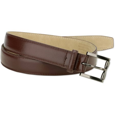 Feather Belt (George Men's 32mm Feather Edge Double Stitch)