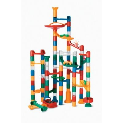 Marble Run: 123 Piece Set (103 durable pieces and 20 marbles) EXCLUSIVELY AT MINDWARE! (Run Block)