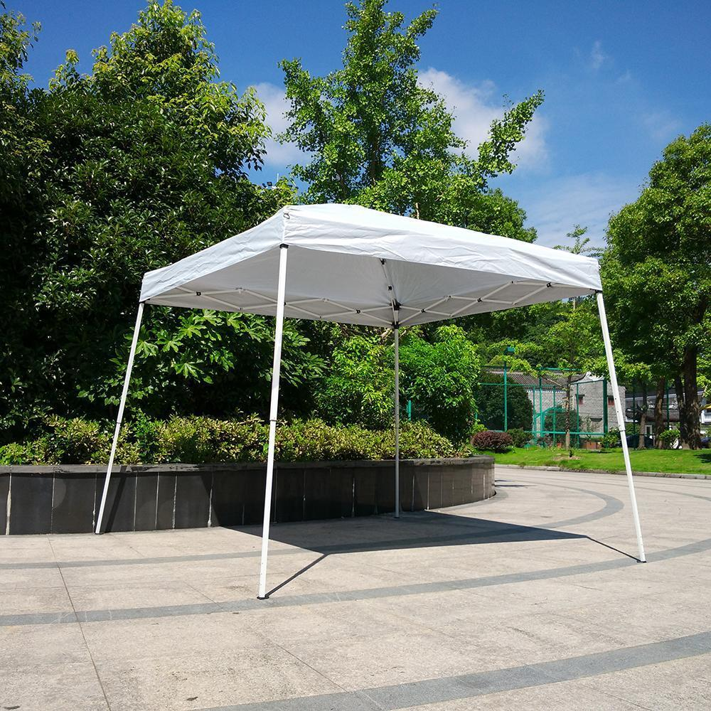 Ktaxon EZ Pop Up Wedding Party Tent Outdoor Patio Folding Gazebo Canopy Shade Shelter 8u0027 & Ktaxon EZ Pop Up Wedding Party Tent Outdoor Patio Folding Gazebo ...
