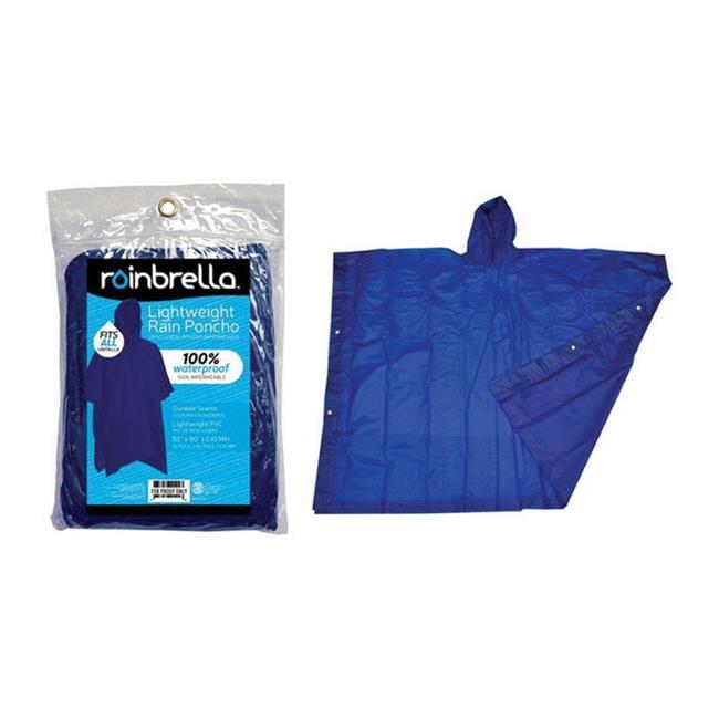 Rainbella 48150 Rain Poncho in Blue - image 1 de 1