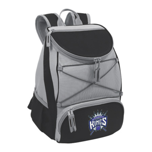 "Picnic Time PTX Cooler Backpack Sacramento Kings Print  11"" x 7"" x 12.5"""