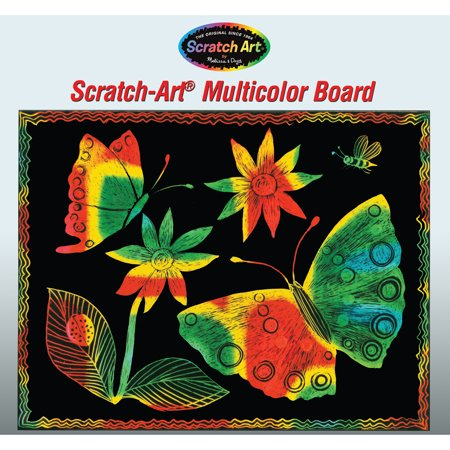Multicolor Scratch-Art® Paper, 50 - Scratch Paper Art