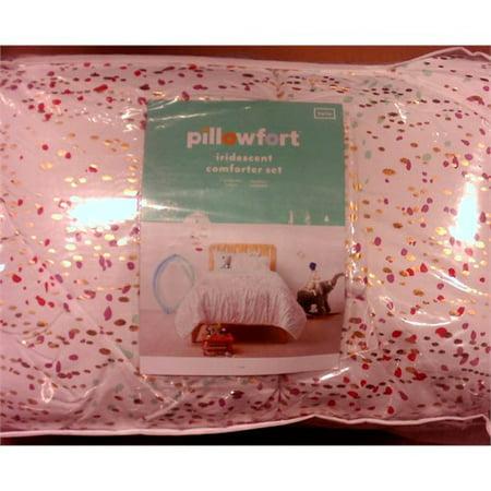 Iridescent Comforter Set - Pillowfort - Twin