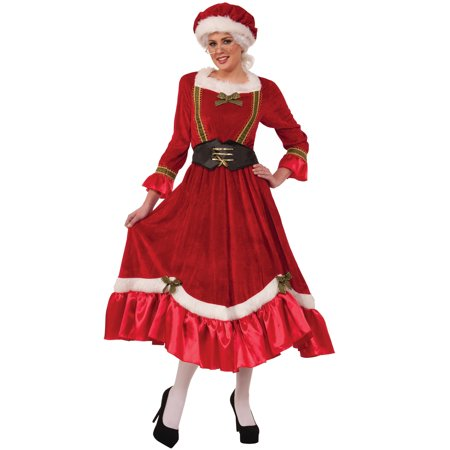 Jolly Mrs Santa Claus Adult Costume