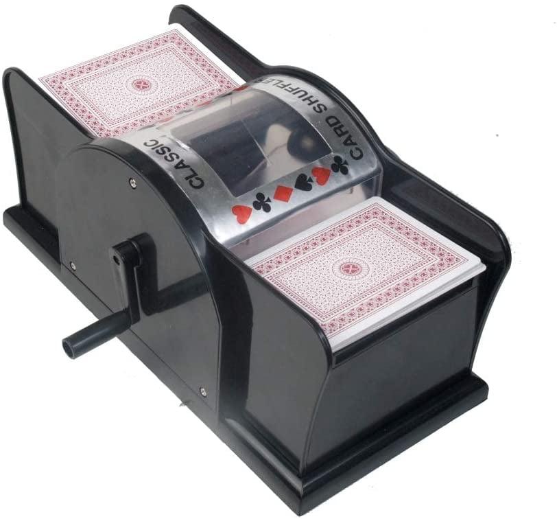 manual card shuffler machine for casino poker deckplaying