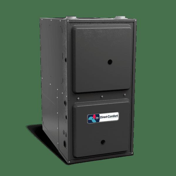 "HVAC Direct Comfort by Goodman DC-GMVC Series Gas Furnace - 96% AFUE - 40K BTU - Variable Speed ECM - Upflow/Horizontal - 17-1/2"" Cabinet"